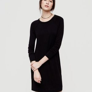 LOU & GREY | Signature Black Long Sleeve Dress